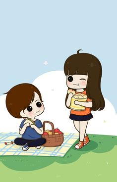 Image shared by 𝐆𝐄𝐘𝐀 𝐒𝐇𝐕𝐄𝐂𝐎𝐕𝐀 👣. Find images and videos about cute, beautiful and beauty on We Heart It - the app to get lost in what you love. Cute Chibi Couple, Love Cartoon Couple, Cute Couple Comics, Cute Couple Art, Anime Love Couple, Cute Cartoon Boy, Cartoon Pics, Cute Cartoon Wallpapers, Cute Couple Wallpaper