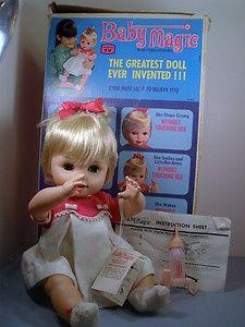baby+magic+doll+1960's | , Childhood Memories, Magic Dolls, Baby Magic Doll, Favorite Dolls ...