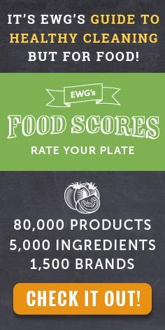Wow!!! The EWG just released a new edition of its Guide to Healthy Cleaning, an online database detailing the health hazards and environmental concerns for more than 2,500 household products. The guide grades laundry detergents, dish soaps, spray cleaners, and other products on the hazards associated with ingredients and disclosure of contents.
