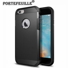 Find More Fitted Cases Information about Portefeuille Tough Armor Case For iPhone 7 6 s Heavy Duty Protection Ultra Slim Cover Coque For iPhone 6 6s Plus 7plus Fundas,High Quality Fitted Cases from Neuss Store on Aliexpress.com