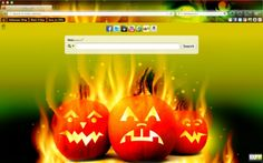 Halloween Browser Theme for Internet Explorer (IE)