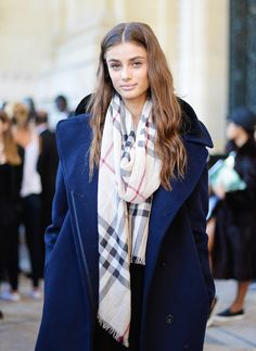 Taylor Marie Hill - Paris Fashion Week Spring 2015.