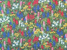 Moda - Sentimental Studios 'Wildflowers VII'  Bildgröße 53 cm x 40 cm bm-262-03-9035