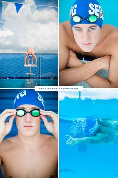 idea for upcoming senior session | swim