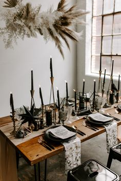 This Black and Gold Celestial Wedding Inspiration is Full of Edgy Glamour You Don't Want to Miss