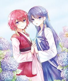 Yona and Lili || By Powder on pixiv