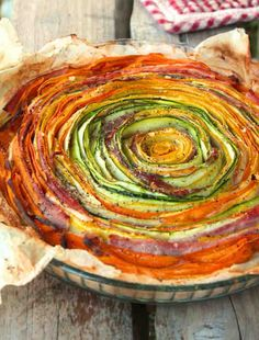 tartefleur2 // http://bikinietgourmandise.fr/recette-minceur/tarte-fleur/#