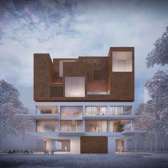 NOORDERKAAP - sculptural facade