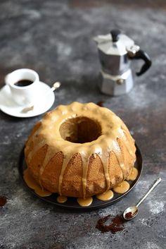 Gateau ou cake moelleux au cafe, facile et trop bon