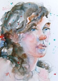 """""""Rochelle 2"""" - watercolour by Nora MacPhail"""