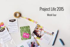 Amca Design: PROJECT LIFE - Year 2015 Week four
