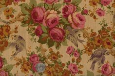 Northcott Traditions Circa 1800 Reproductions Floral Cotton Fabric