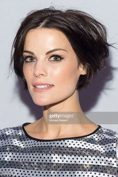 Jaimie Alexander attends the Erin Fetherston show during Mercedes-Benz Fashion Week Fall 2015 at The Salon at Lincoln Center on February 18, 2015 in New York City.