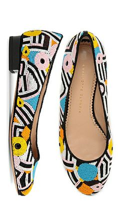 Licorice All-sorts shoes! // Charlotte Olympia Pick 'n' Mix