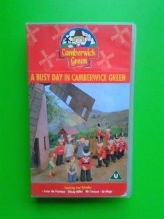 A Busy Day in Camberwick Green / Video 58min Animation Kids Postman Childrens