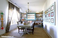 The school schools and the o 39 jays on pinterest for Homeschool dining room ideas