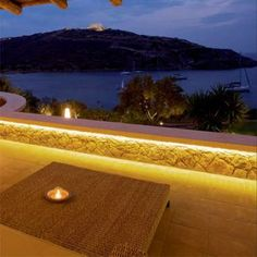 Outdoor Strip Lighting Beauteous Hidden Led Strip Lights In The Coping Stones Lights The Path Really Design Ideas