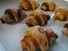 I decided to give rugelach another go this year, this time with a recipe from Sarabeth Levine's Sarabeth's Bakery.  I've had more than my fair share of rugelach from Sarabeth's storefront over the past year and I can honestly say that these were every bit as good as the ones from the bakery.
