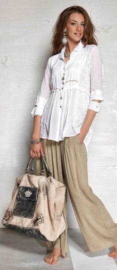 Elisa Cavaletti romantische Bluse Tunika weiss S M L XL XXL ECP151025329  2015