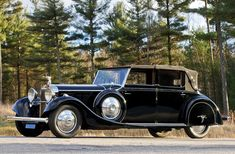 1935 Hispano-Suiza J12 Cabriolet deVille by Rippon Brothers