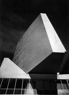 Luigi Moretti - Corso Italia Complex, #Milano, 1956