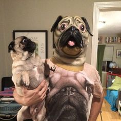 Coordinating to match your pet can be a great idea for a Halloween costume...but not always