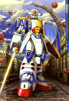 Gundam Mechanic File: Gundam Rose