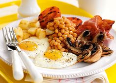 The Full English Breakfast, England