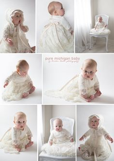 Christening Photography Session by Pure Michigan Baby