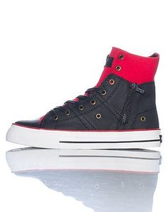 bbfb602dfb890d Levis Zip High Ct Twill Sneaker Levi s.  24.95 Boys Shoes