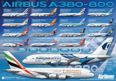 A380 poster in Airliners Magazine ( May Issue )