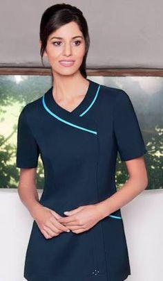 New england patriots new women 39 s nfl scrub top for Spa receptionist uniform design