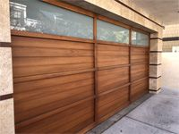 Neals Custom Garage Doors Contemporary Garage Doors Modern