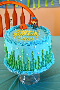 Motherhood: Finishing with Grace: Octonauts Birthday Party