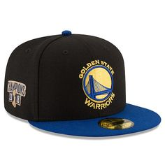 Golden State Warriors New Era 2018 NBA Finals Champions Side Patch Two-Tone  59FIFTY Fitted c1d379ce6e5