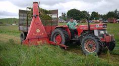 Real Grassmen Single Chop Forage Harvester (silage) World Record 2011 Du. Vintage Tractors, Harvester, World Records, Modern, Trendy Tree, Antique Tractors