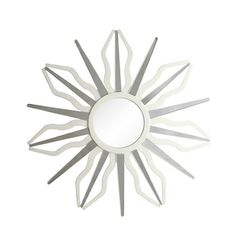 Inspire Q Nihoa Silver Finish Starburst Rays Accent Wall Mirror | Overstock.com Shopping - Great Deals on INSPIRE Q Mirrors