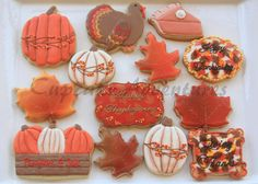 Thanksgiving Cookie Set | Cookie Connection