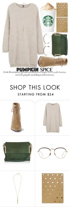 """PUMPKIN SPICE STYLE"" by noraaaaaaaaa ❤ liked on Polyvore featuring Eleventy, River Island, Linda Farrow, Cole Haan and Sugar Paper"