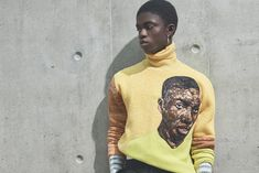 The Dior Men's Collection Celebrates African Art With This Powerful Dior Men, Kehinde Wiley, African Artists, Oil Portrait, Mens Fashion Week, Black Models, Fashion Labels, Short Film, All Black