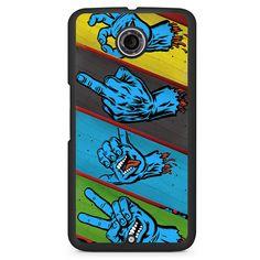 Santa Cruz Skateboard 3 Phonecase Cover Case For Google Nexus 4 Nexus 5 Nexus 6