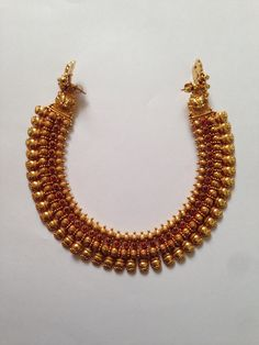 Indian Jewelry Earrings, Jewelry Design Earrings, Gold Earrings Designs, Silver Jewellery Indian, Gold Jewellery, Kerala Jewellery, India Jewelry, Gold Jewelry Simple, Antique Necklace