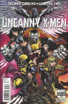 Marvel Uncanny X-Men comic issue 523 Limited variant .
