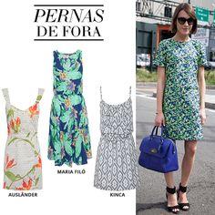 Compre moda com conteúdo, www.oqvestir.com.br #Fashion #Summer #MariaFilo #Kinca #Auslander #Print #Look #Shop