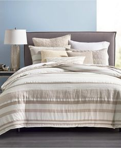 Hotel Collection Honeycomb Full/Queen Duvet Cover, Created for Macy's Bedding King Duvet, Queen Duvet, Linen Bedding, Bedding Sets, Bed Linens, Beige Duvet Covers, Hotel Collection Bedding, Luxury Bedding Collections, Space Furniture