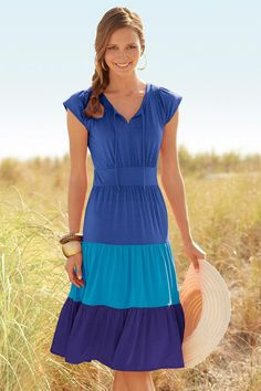 Could use plain old tshirts from the vestry to make this dress!!