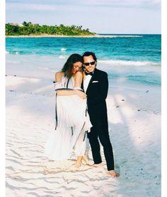 Sofia Sanchez et Alexander de Betak lors du mariage de Jason Wu et Gustavo Rangel à Tulum http://www.vogue.fr/mariage/inspirations/diaporama/le-mariage-de-jason-wu-et-gustavo-rangel-a-tulum-au-mexique/30865#sofia-sanchez-et-alexander-de-betak-lors-du-mariage-de-jason-wu-et-gustavo-rangel-a-tulum