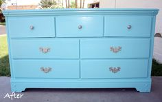 My Life: We refinished a dresser!