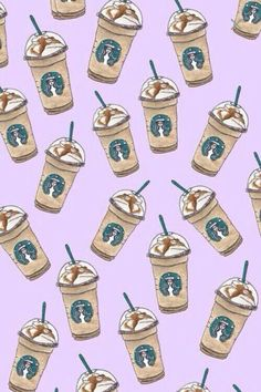 Image de starbucks, wallpaper, and background Cute Food Wallpaper, Cute Wallpaper For Phone, Iphone Wallpaper Vsco, Aesthetic Iphone Wallpaper, Wattpad, Bebidas Do Starbucks, Starbucks Wallpaper, Starbucks Art, Cool Backgrounds Wallpapers