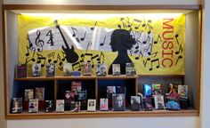 MUSIC - Library Bulletin Board and Book Display